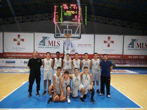 U16 Boys team